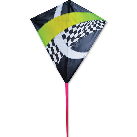 30 in. Diamond Kite - Neon Tronic