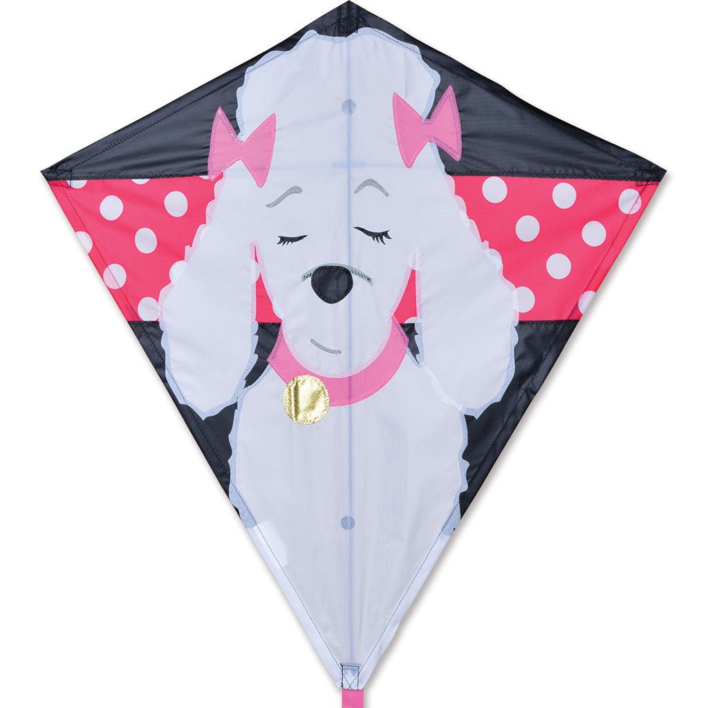 30 in. Diamond Kite - Gigi Poodle