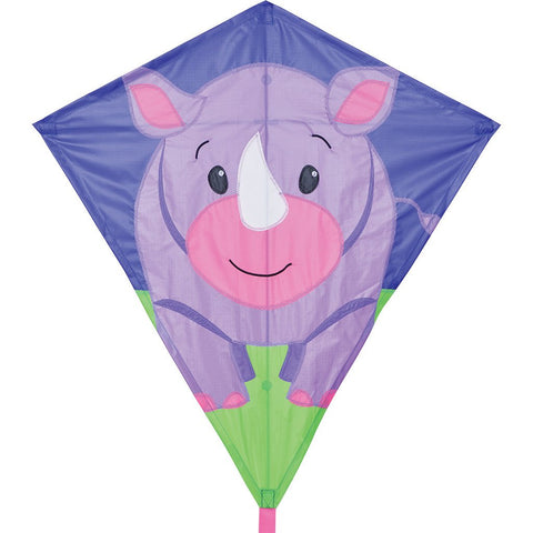 30 in. Diamond Kite - Riley Rhino