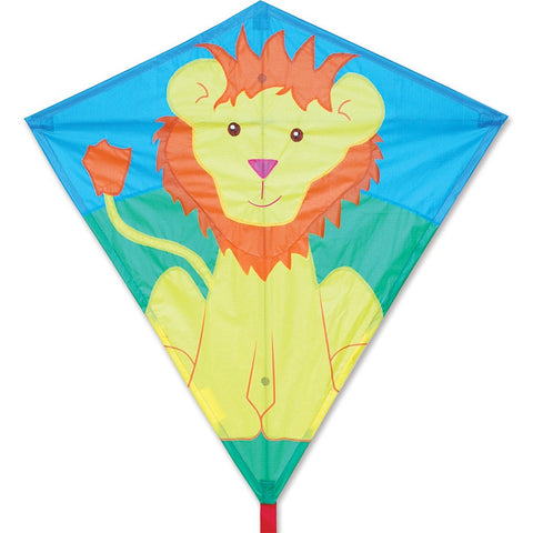 30 in. Diamond Kite - Lionel Lion