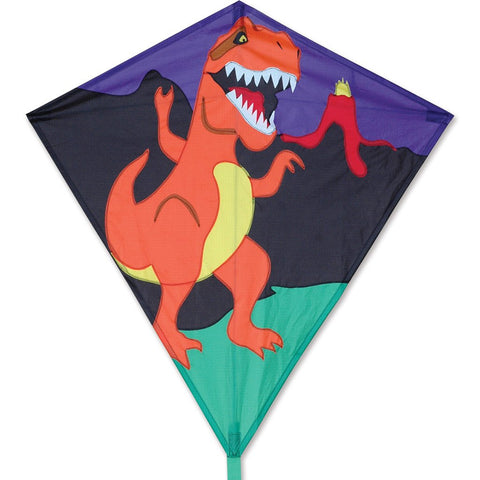 30 in. Diamond Kite - T-Rex
