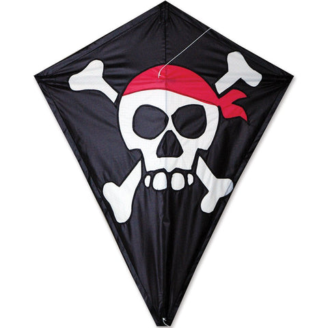 25 in. Diamond Kite - Skull & Crossbones
