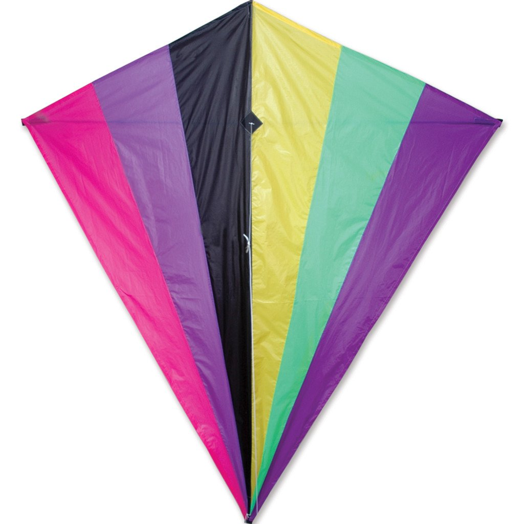 65 in. Diamond Kite - Neon