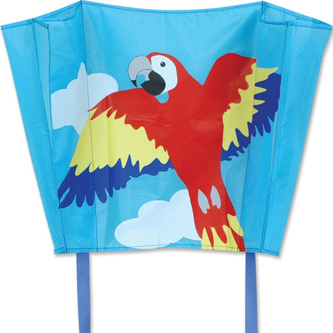 Big Back Pack Sled Kite - Macaw