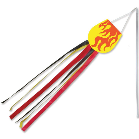 Wind Wand - Flame (Set of 12 Pieces)