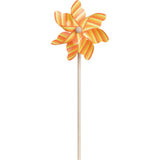 7 in. Pinwheel - Stripes  (Set of 24)