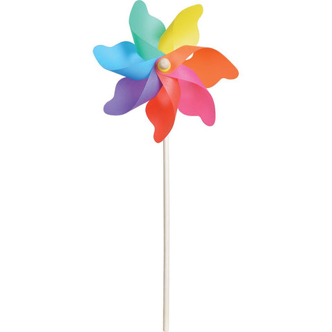 9 in. Pinwheel - Rainbow  (Set of 24)