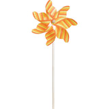 9 in. Pinwheel - Stripes (Set of 24)