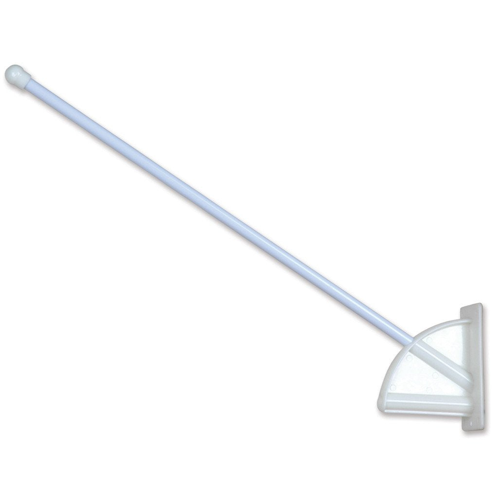 Comm Flagpole Mount - Glass