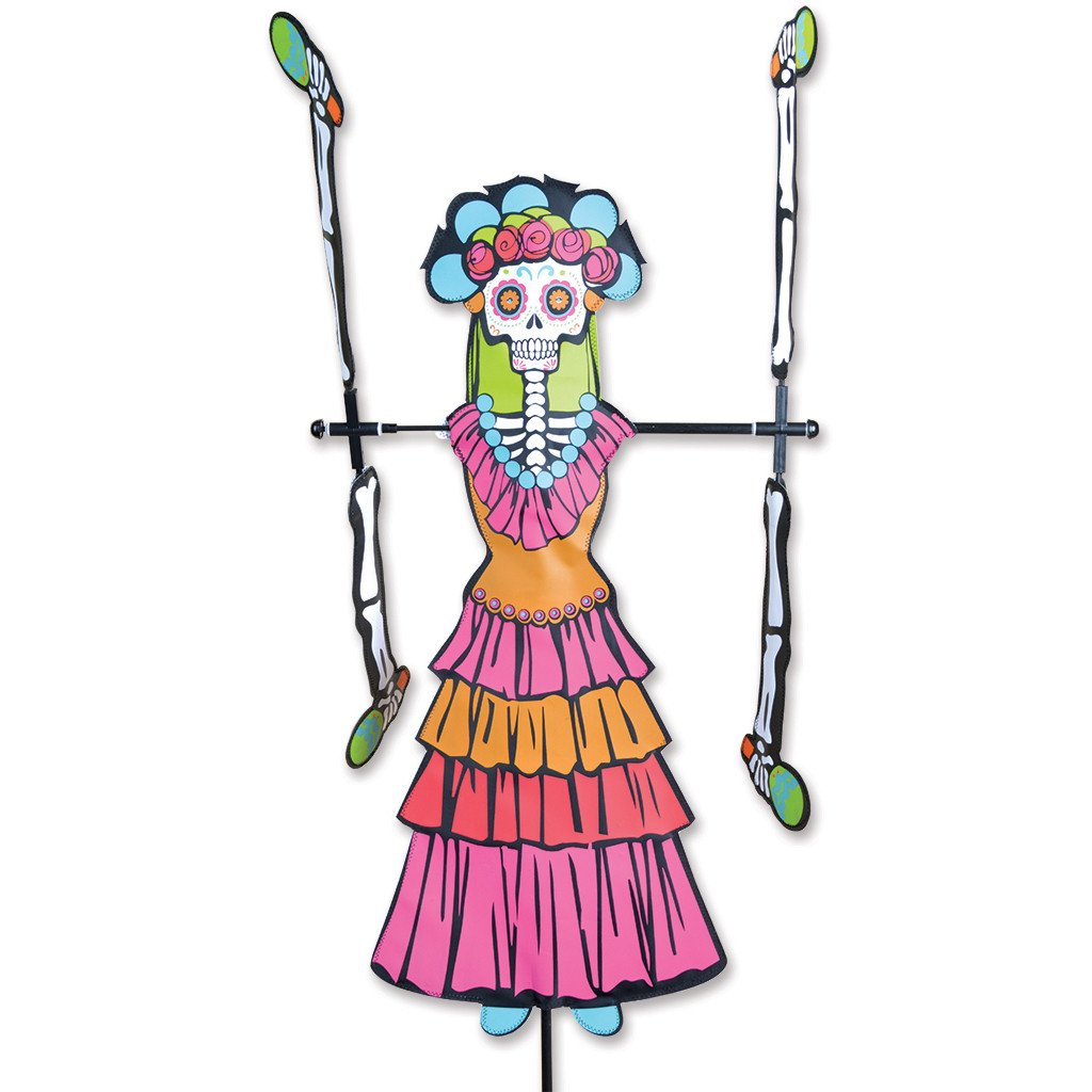 WhirliGig Spinner - Day of the Dead Woman