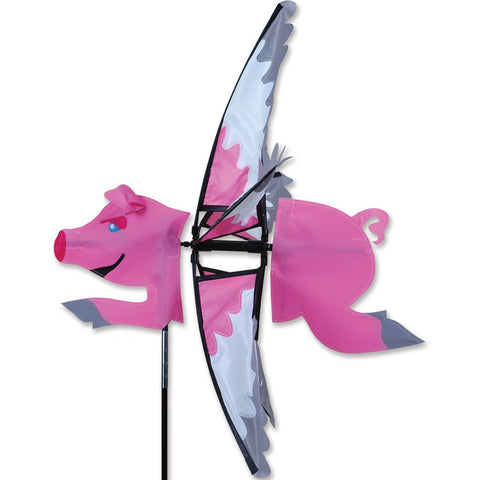 23 in. Flying Pig Spinner