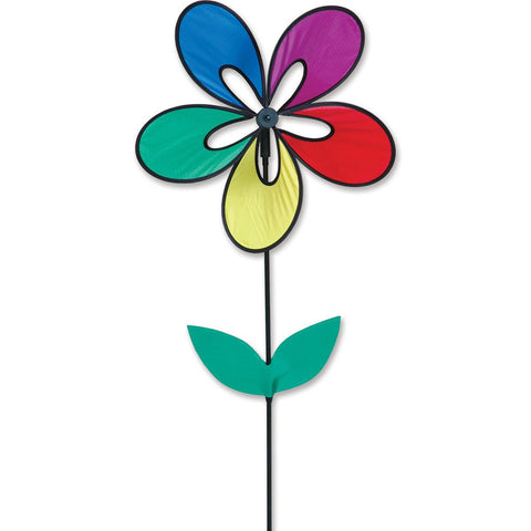 Whirly Wing Flower Spinner - Rainbow
