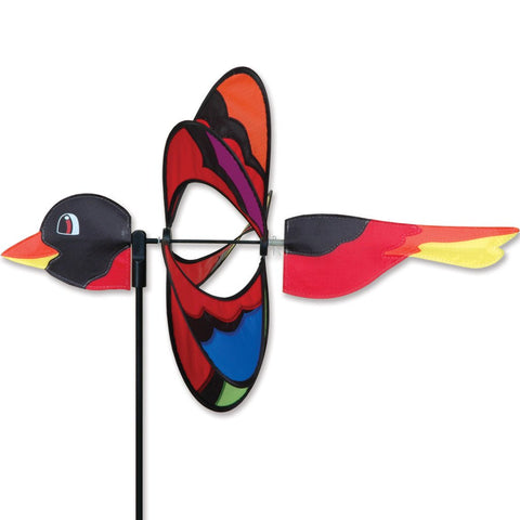 Whirly Wing Spinner - Rainbow Bird