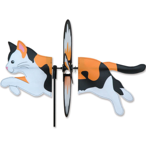 Petite Spinner - Calico Cat