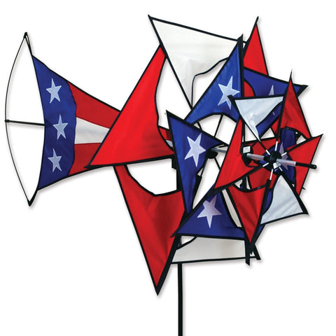 Large Patriotic Windmill