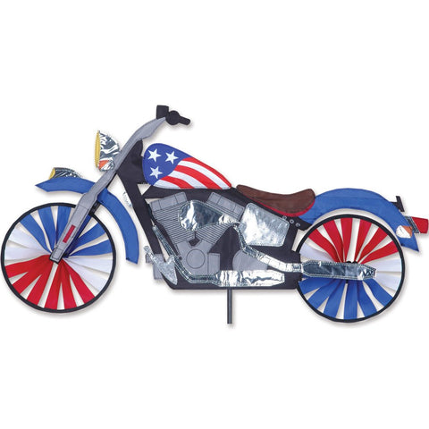 32 in. Motorcycle Spinner - Patriotic