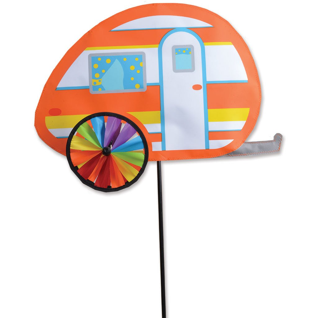 19 in. Teardrop Camper Spinner