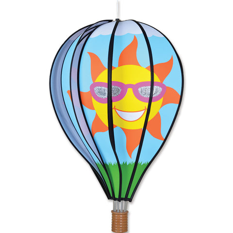 22 in. Hot Air Balloon - Sun