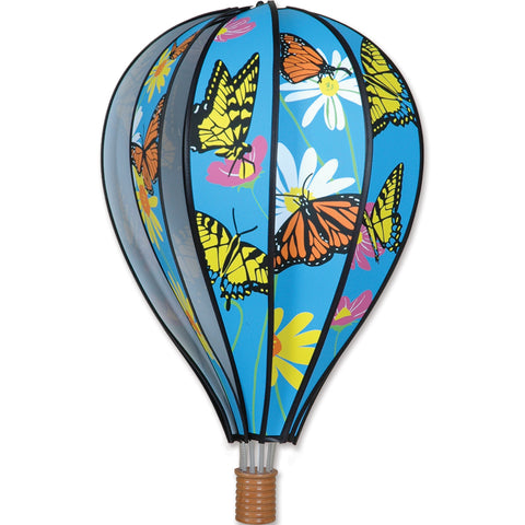 22 in. Hot Air Balloon - Butterflies