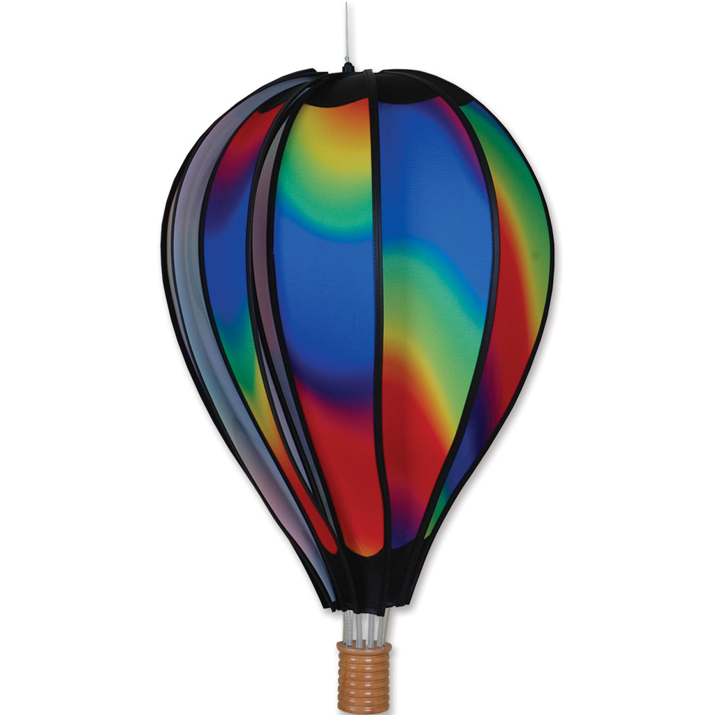22 in. Hot Air Balloon - Wavy Gradient
