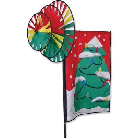 Triple Spin Banner - Christmas Tree