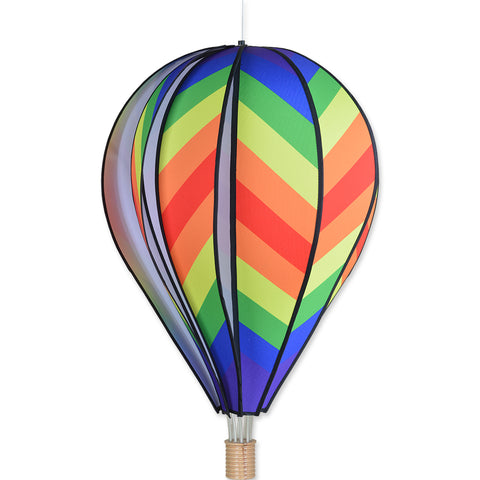 26 in. Hot Air Balloon - Traditional Rainbow