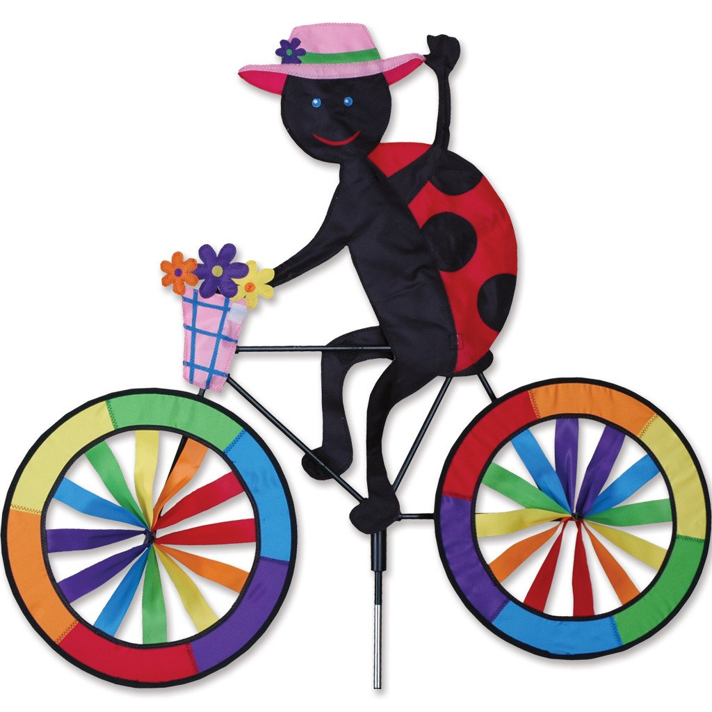 30 in. Bike Spinner - Ladybug
