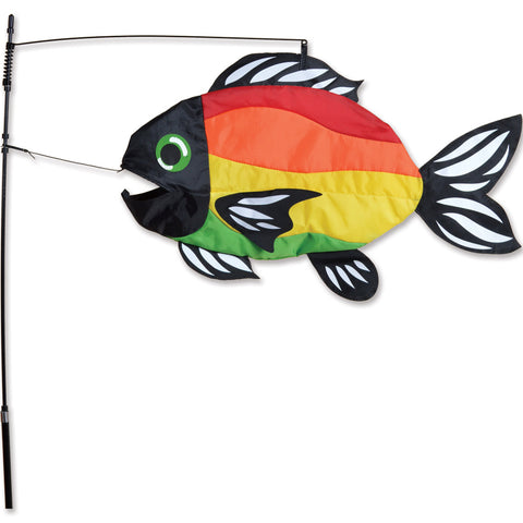 Swimming Fish - Stylized Rainbow