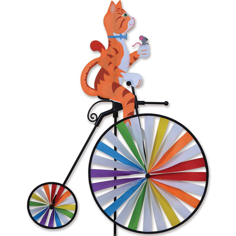 High Wheel Bike Spinner - Cat