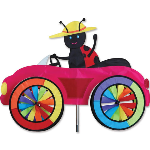 25 in. Car Spinner - Ladybug