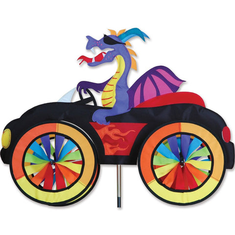 25 in. Car Spinner - Dragon