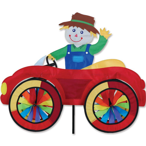 25 in. Car Spinner - Scarecrow