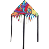 24 in. Fringe Delta Kite - Orbit