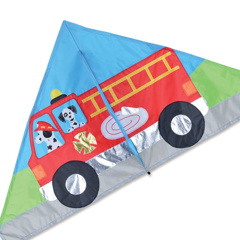 56 in. Delta Kite - Fire Truck