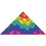 9 ft. Delta Kite - Rainbow Triangles