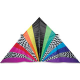 11 ft. Delta Kite - Rainbow Opt-Art
