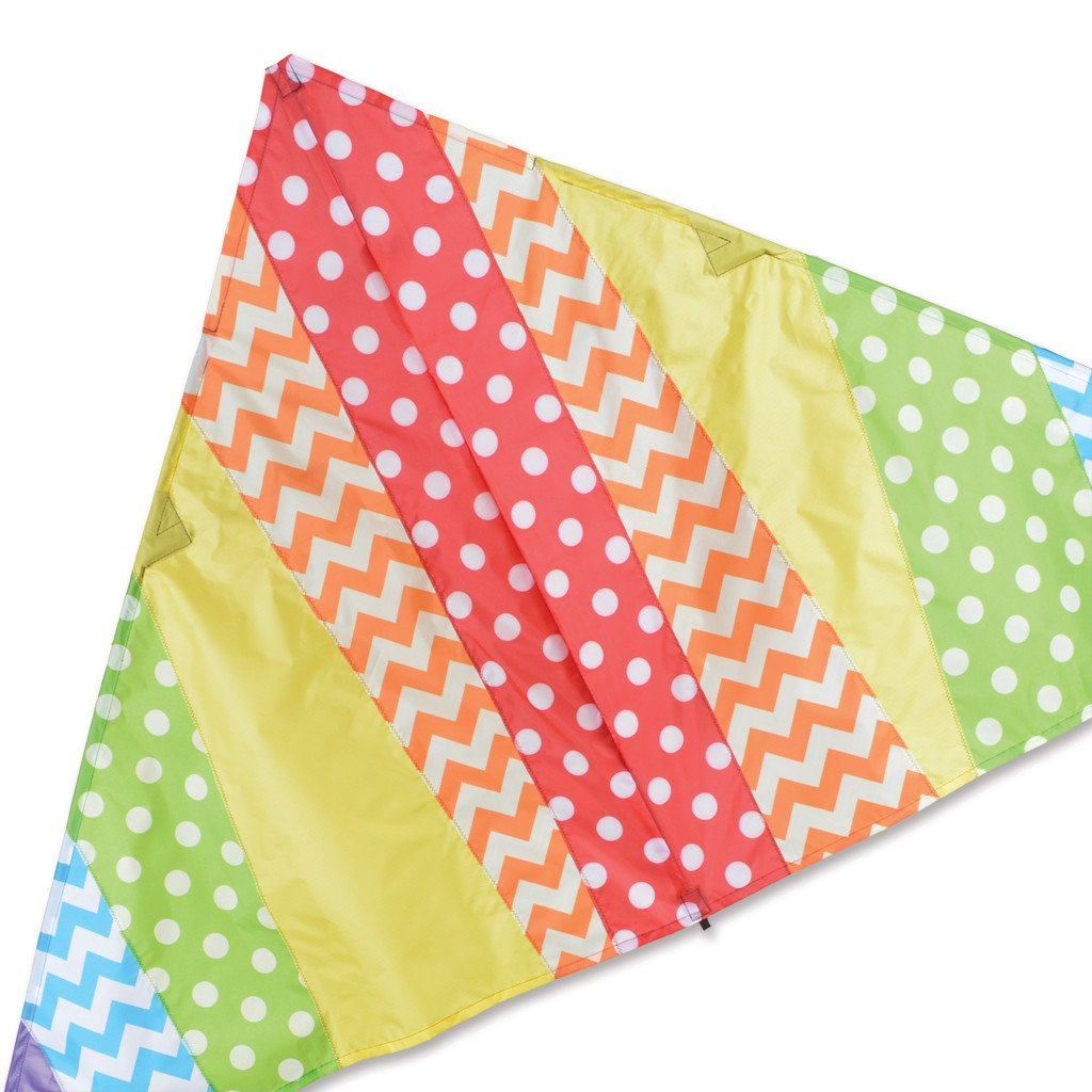 X-Delta Kite - Pattern Rainbow