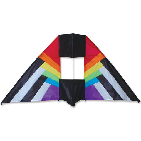 5.5 ft. Box Delta Kite - Rainbow Spectrum