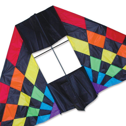 7.5 ft. Box Delta Kite - Rainbow Ray