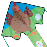 Large Easy Flyer Kite - Gladys Hen