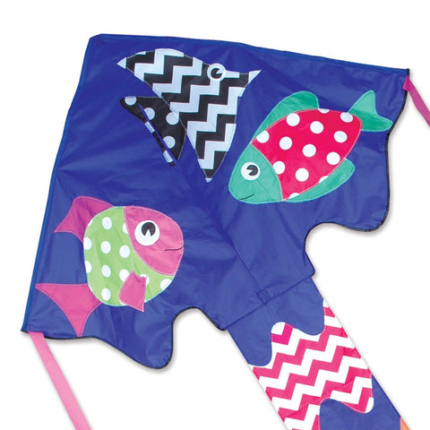 Large Easy Flyer Kite - Fancy Fish