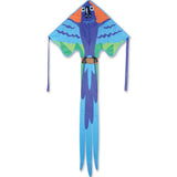 Lg. Easy Flyer Kite - Blue Macaw