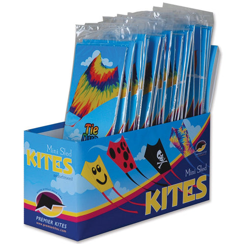 Mini Sled Assorted Pack of 24 Kites
