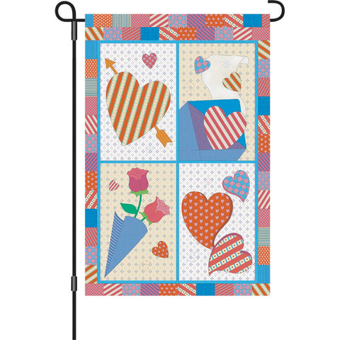12 in. Valentine's Day Garden Flag - Sweet Heart