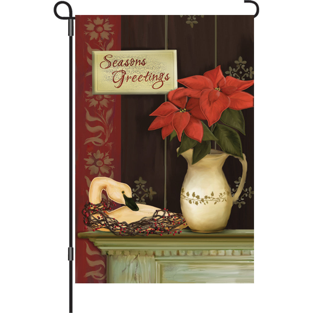 12 in. Christmas Garden Flag - Celebrate the Season