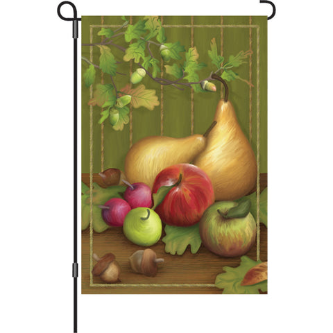 12 in. Autumn Garden Flag - Pears
