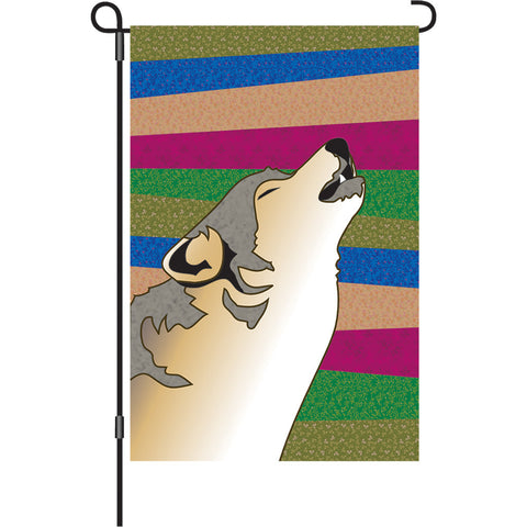 12 in. Southwest Garden Flag - Durango Night
