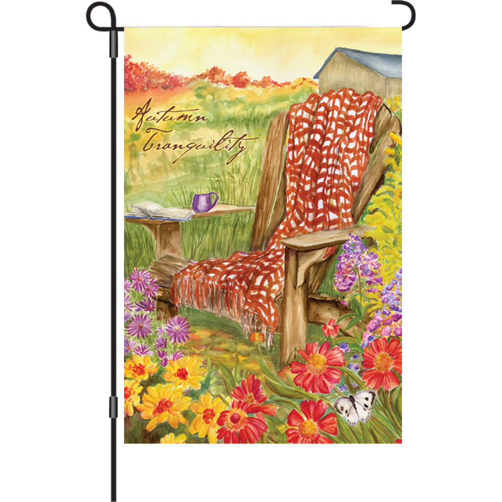 12 in. Fall Garden Flag - Autumn Tranquility