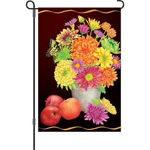 12 in. Autumn Garden Flag - Fall Floral