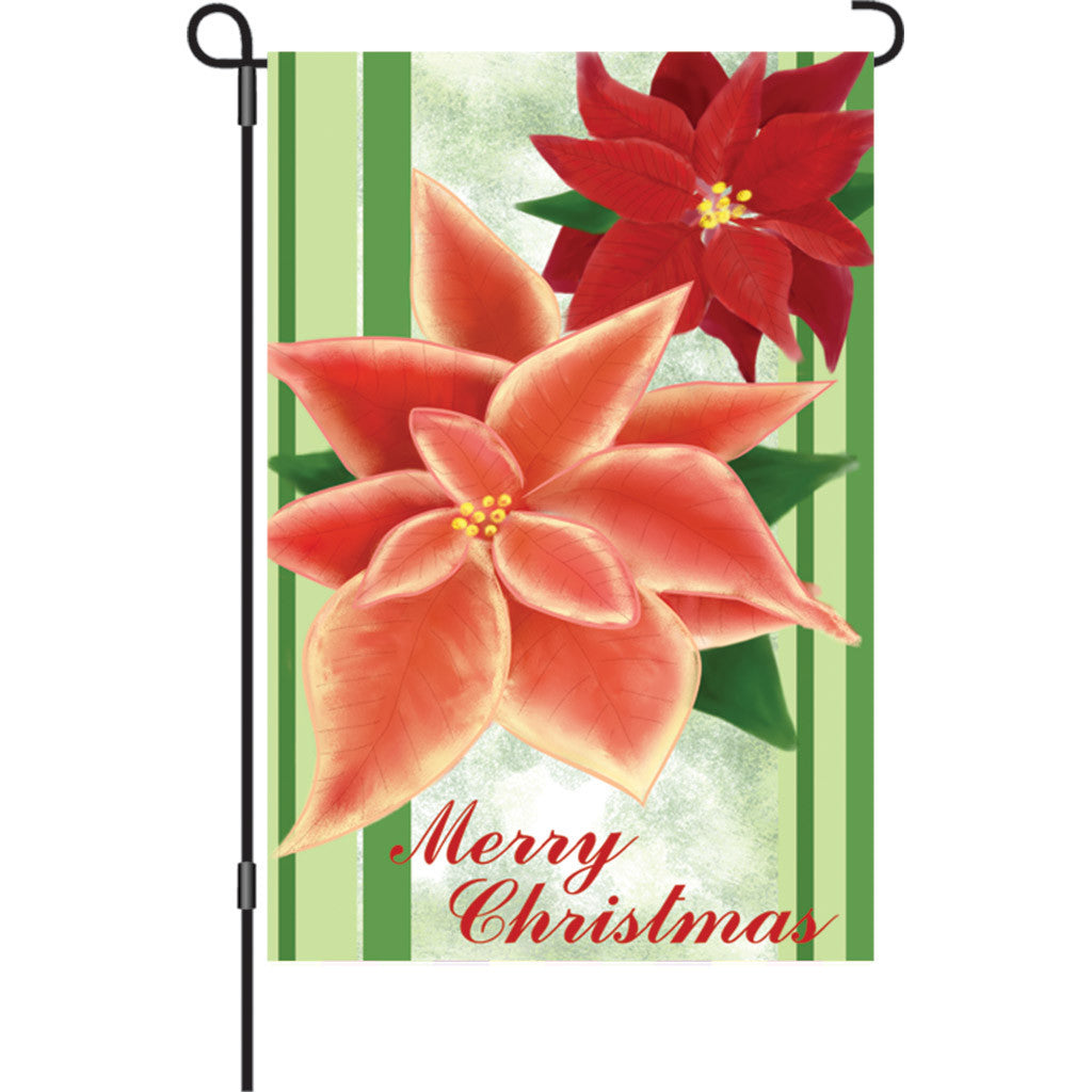 12 in. Christmas Garden Flag - Merry Christmas